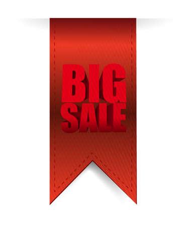 hangings: Big sale hanging banner business sign illustration design icon graphic