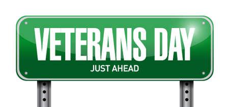 civil rights: veterans day post sign illustration design icon graphic Illustration