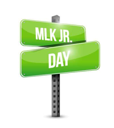 martin: MLK jr. day arrow sign illustration design icon graphic