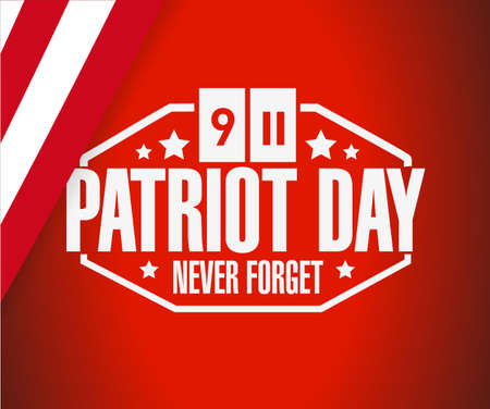 civil rights: patriot day flag background illustration design graphic