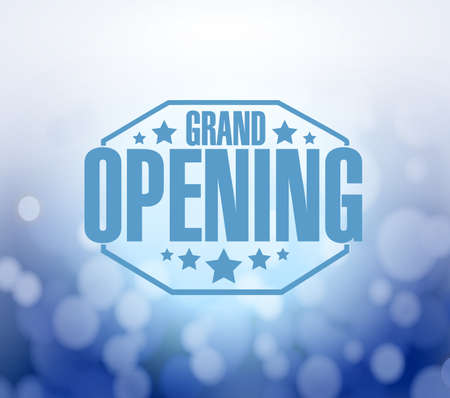 apertura: gran apertura azul bokeh de fondo, ilustración, diseño Foto de archivo