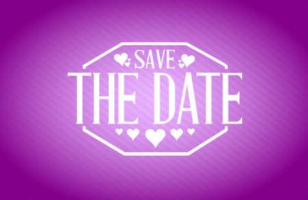 purple texture: save the date purple texture background sign illustration design graphic