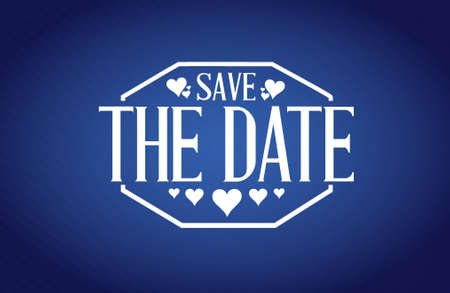 graphic texture: save the date blue texture background sign illustration design graphic Illustration