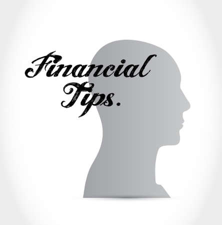 to invest: financial tips people sign concept illustration design graphic