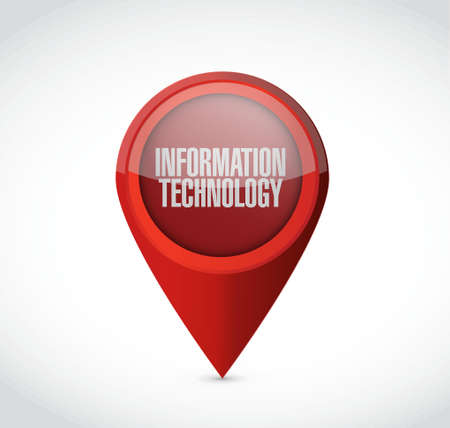 information technology pointer sign concept illustration design graphic