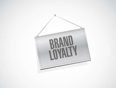 repurchase: brand loyalty banner sign concept illustration design graphic Illustration