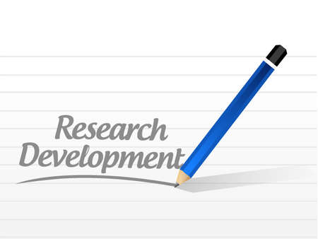 smart goals: research development message sign concept illustration design icon graphic