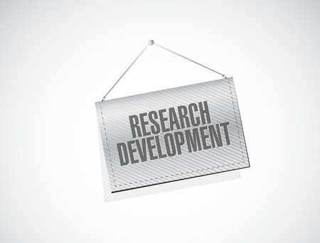 smart goals: research development banner sign concept illustration design icon graphic