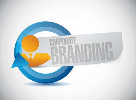 entity: Corporate Branding avatar sign concept illustration design graphic