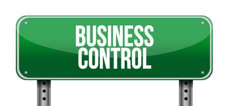 move: business control road sign concept illustration design