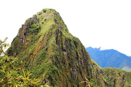wonder: Huayna Picchu. Peru. wonder of the world