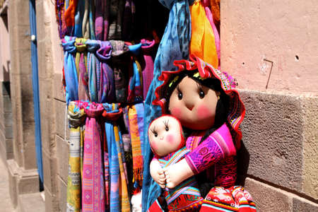 cuzco: Inca Doll. Peruvian products. Handmade traditional arts. Cuzco