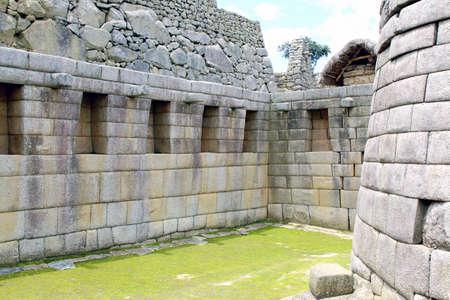 stonework: Intricately crafted stonework at Machu Picchu, Peru