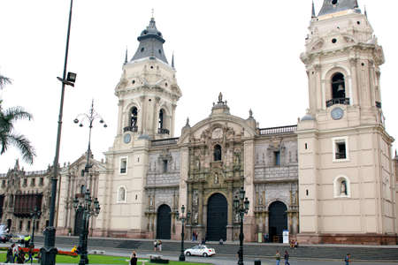 lima: The Basilica Cathedral of Lima is a Roman Catholic cathedral located in the Plaza Mayor in Lima, Peru