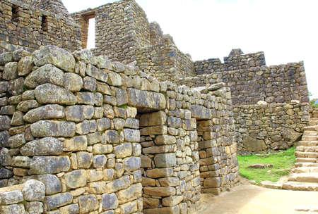 lost city: The lost city in Peru, Machu Picchu. located near Cuzco.