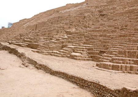 lima peru nov 24 2015 the huaca pucllana is a clay pyramid
