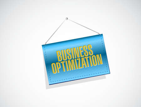 increase visibility: business optimization banner sign concept illustration design graphic