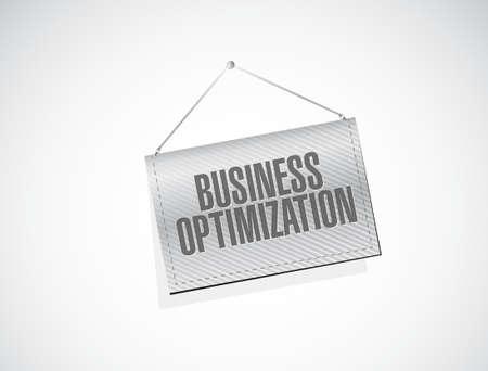 increase visibility: business optimization banner sign concept illustration design graphic