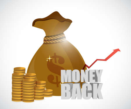 money back: money back and money back illustration design graphics