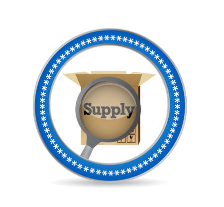 review: magnify supply review seal illustration design graphic