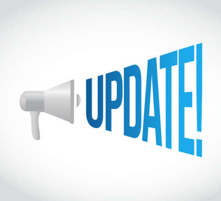 update message concept sign illustration design graphic