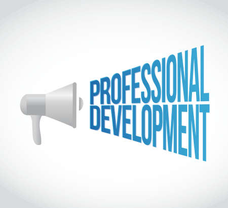 careerist: Megaphone professional development more message illustration design