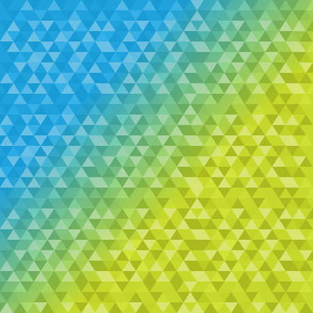 forme: triangle shape pattern blue and yellow background illustration design graphic Illustration