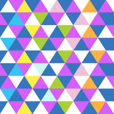 multicolored: triangle shape multicolor pattern background illustration design graphic