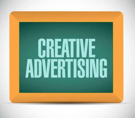 marketting: creative advertising chalkboard sign illustration concept design graphic Illustration