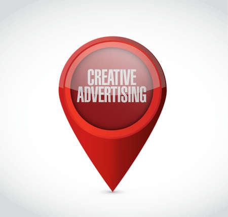 marketting: creative advertising pointer sign illustration concept design graphic