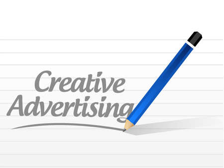 marketting: creative advertising message sign illustration concept design graphic