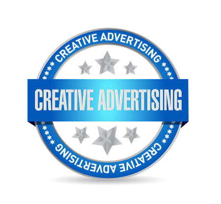 creative advertising seal sign illustration concept design graphic