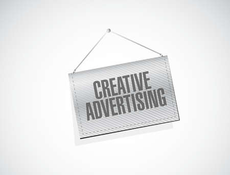 unexpected: creative advertising banner sign illustration concept design graphic Illustration
