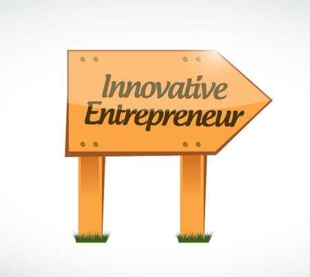 owner money: innovative entrepreneur woos sign illustration design graph