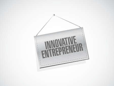 owner money: innovative entrepreneur target sign illustration design graph