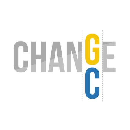 chance: change to chance concept illustration design graphic Illustration