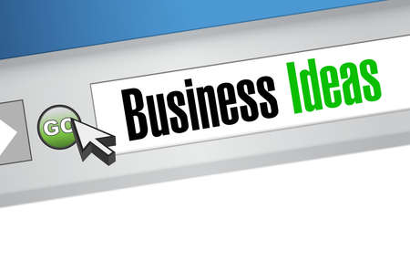 concept and ideas: business ideas websites sign concept illustration design graphic
