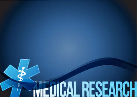 investigate: Medical research wave isolated sign illustration design graphic
