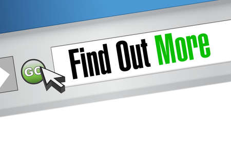 seeking an answer: find out more website sign concept illustration design graphic