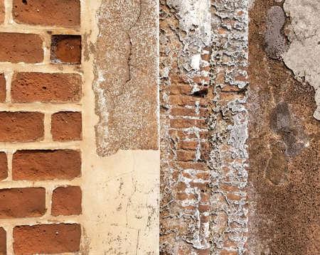 Patrón de la pared de ladrillo del grunge. con espacio de copia Foto de archivo - 86145465