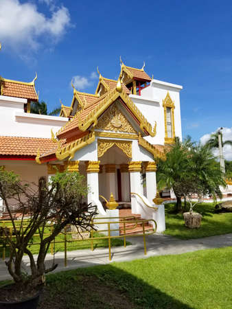 Wat Buddharangsi of Miami Theravada Buddhist Temple. Meditation location
