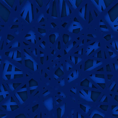 Abstract Polygonal blue background. Vector Illustration. textured background