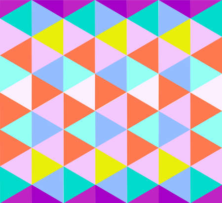 Triangle pattern in light color shades illustration background
