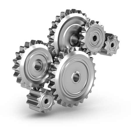 cogwheel: Perpetuum mobile : Gears  Stock Photo