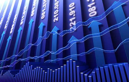 bolsa de valores: Fondo abstracto de bolsa