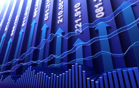 data exchange: Stock market abstract background  Stock Photo