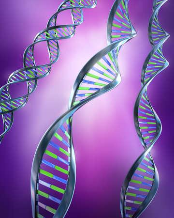 genes: ADN Strands - simple y doble h�lice