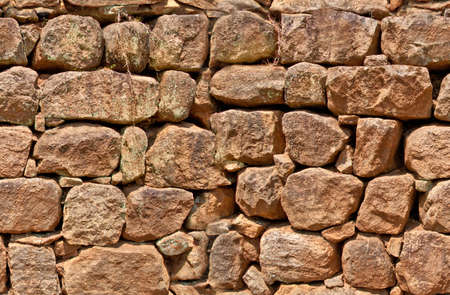 Old stone wall, seamless pattern photo