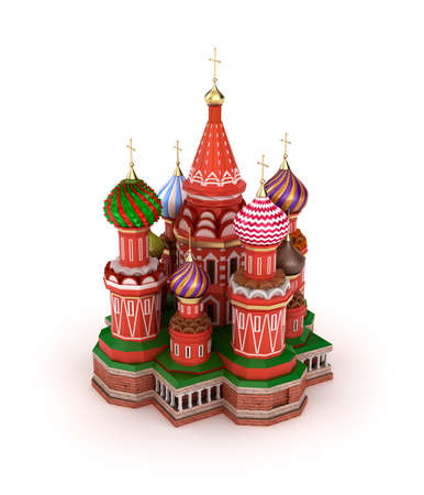Saint Basil s Cathedral on the Red Square in Moscow, Russia Stock Photo - 17403635