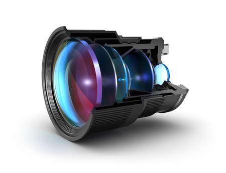 camera lens: Sectional camera lens